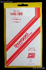 Showgard Pre-Cut Clear Stamp Mounts Size 140/89