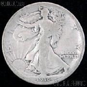 1916 Walking Liberty Silver Half Dollar Circulated Coin G 4 or Better