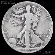 1919 Walking Liberty Silver Half Dollar Circulated Coin G 4 or Better