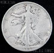 1929-S Walking Liberty Silver Half Dollar Circulated Coin G 4 or Better