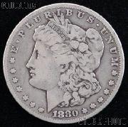 1880 S Morgan Silver Dollar Circulated Coin VG 8 or Better
