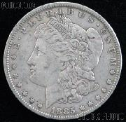 1885 CC Morgan Silver Dollar Circulated Coin VG 8 or Better