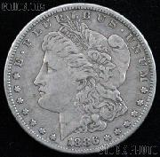 1886 Morgan Silver Dollar Circulated Coin VG 8 or Better