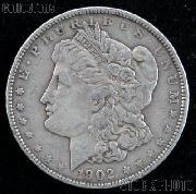 1902 Morgan Silver Dollar - VG+ Better Date Silver Dollar