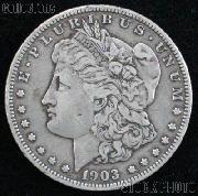 1903 Morgan Silver Dollar - VG+ Better Date Silver Dollar