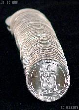 2010-D Arkansas Hot Springs National Park Quarters Bank Wrapped Roll 40 Coins GEM BU