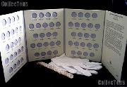 Jefferson Nickel Set 1938 -1961 Complete CIRC Nickel Set (65 Coins) w/ Littleton Folder LCF25