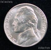 1945-D Jefferson Silver War Nickel Gem BU (Brilliant Uncirculated)