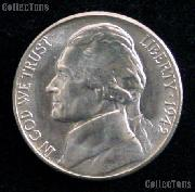 1942-P Jefferson Silver War Nickel Gem BU (Brilliant Uncirculated)