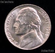 1944-D Jefferson Silver War Nickel Gem BU (Brilliant Uncirculated)