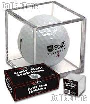 Golf Ball Display Case by BCW Golf Ball Square or Cube