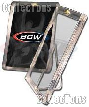 10 Sports Card Holders W Stands By Bcw 1 Screw Card Holders W Stands 20 Point