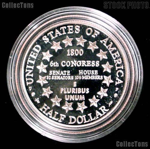 2001-P Proof U.S. Capitol Visitor Center Commemorative Half Dollars