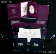 Silver Eagle Proof Set 1986 - 2014 All in Box w/ COA American Silver Eagle Dollars Proof Set
