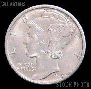 90% Silver Coins Pre 1965 1 Dollar Face Value 10 Different Mercury Silver Dimes