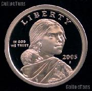 2005-S Sacagawea Dollar GEM Proof 2005 Sacagawea SAC Dollar