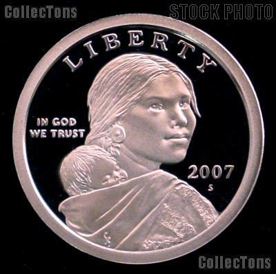 2007-S Sacagawea Dollar GEM Proof 2007 Sacagawea SAC Dollar