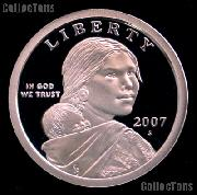 2007-S Sacagawea Dollar GEM Proof 2007 Sacagawea SAC Dollar