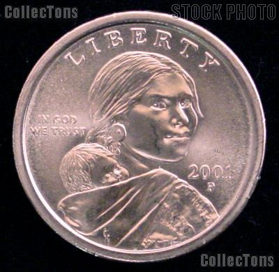 2001-P Sacagawea Dollar BU 2001 Sacagawea SAC Dollar