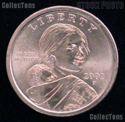 2002 P Sacagawea Dollar Single Coin Dollar Uncirculated US Mint