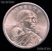 2003-D Sacagawea Dollar BU 2003 Sacagawea SAC Dollar