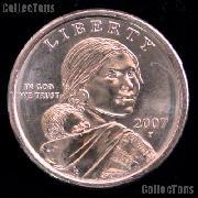 2007-P Sacagawea Dollar BU 2007 Sacagawea SAC Dollar
