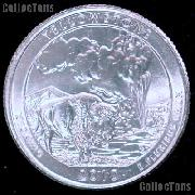 2010-P Wyoming Yellowstone National Park Quarter GEM BU America the Beautiful