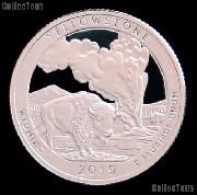 2010-S Wyoming Yellowstone National Park Quarter GEM SILVER PROOF America the Beautiful