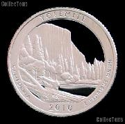 2010-S California Yosemite National Park Quarter GEM SILVER PROOF America the Beautiful