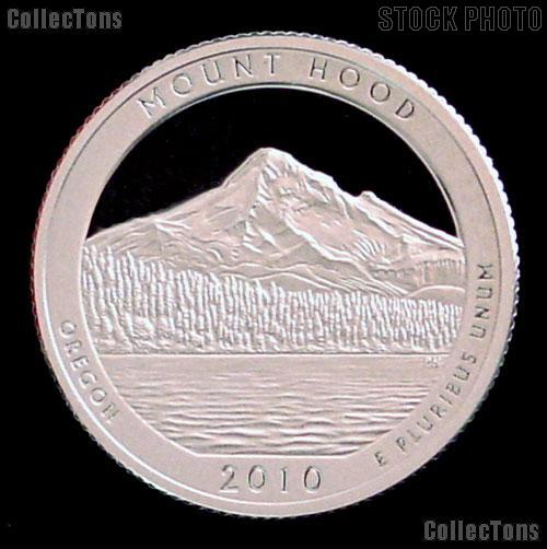 2010-S Oregon Mount Hood National Park Quarter GEM SILVER PROOF America the Beautiful