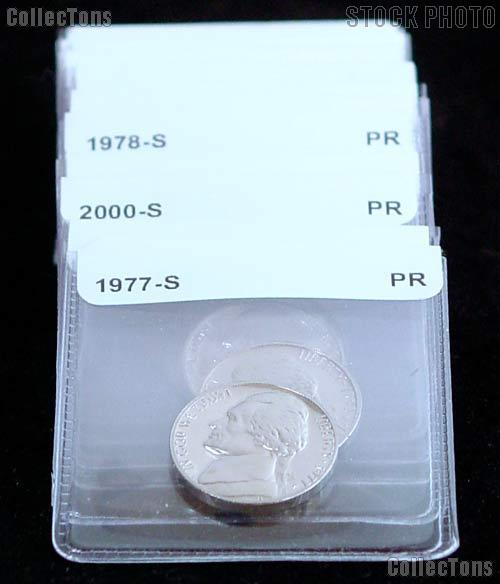Proof Nickels Coin Starter Set 25 Different Proof Jefferson Nickels 1968 to Date