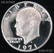1971-S Eisenhower Silver Dollar GEM Proof 1971 Ike Dollar Proof