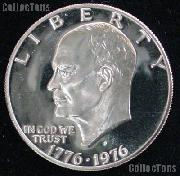 1976-S Eisenhower Dollar Type 1 Clad GEM Proof 1976 Ike Dollar Proof