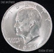 Eisenhower (Ike) Dollar (1971-1978) One Coin Brilliant Uncirculated Condition