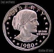 1980-S Susan B Anthony Dollar Gem PROOF 1980 SBA Dollar Proof