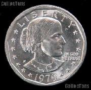1979-P Susan B Anthony Dollar Wide Rim Near Date GEM BU 1979 SBA Dollar