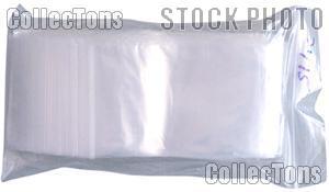 Small Zip Lock Bags 3x5 Pack of 100 Ziplock Coin Bags
