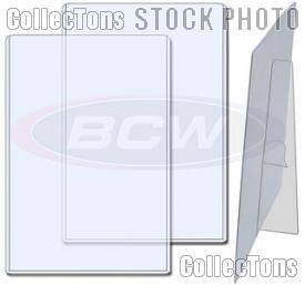 Photo Sleeve 6x9 w/ Stand by BCW 6 x 9 Topload Holder with Stand