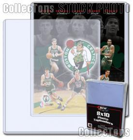 Photo Sleeve 8x10 Autograph Size by BCW 25 Pack 8 x 10 Topload Holders