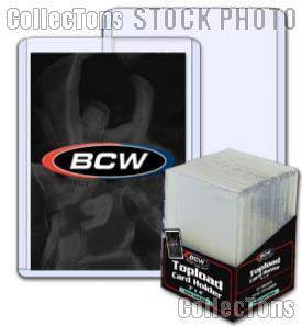3x4 Sports Card Holders by BCW 25 Pack Thick Card Topload Sleeves 79 Point 2mm