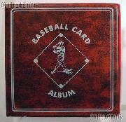Baseball Card Album by BCW 3 Ring Trading Card Album in Red