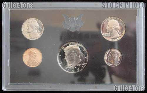 1971 U.S. Mint Proof Set - RARE ERROR 1971 No S Nickel