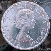 1964 BU Canada Silver Dollar in Original Mint Cello