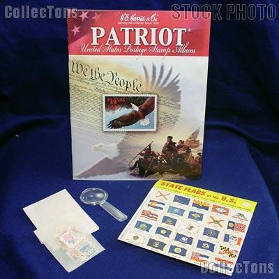Harris USA Stamp Collecting Kit Patriot 4HRS2