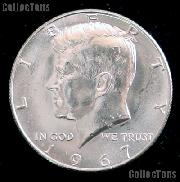 1967 SMS Kennedy Silver Half Dollar GEM BU 1967 Kennedy Half Dollar from SMS