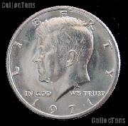1971 Kennedy Half Dollar GEM BU 1971 Kennedy Half
