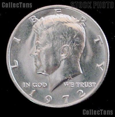 1972 Kennedy Half Dollar GEM BU 1972 Kennedy Half