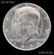 1974 Kennedy Half Dollar GEM BU 1974 Kennedy Half