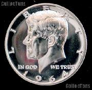 1964 Kennedy Silver Half Dollar * GEM Proof 1964 Kennedy Proof