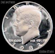 1982-S Kennedy Half Dollar * GEM Proof 1982-S Kennedy Proof